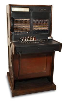 Telefonzentrale der letzten Jahrhunderts