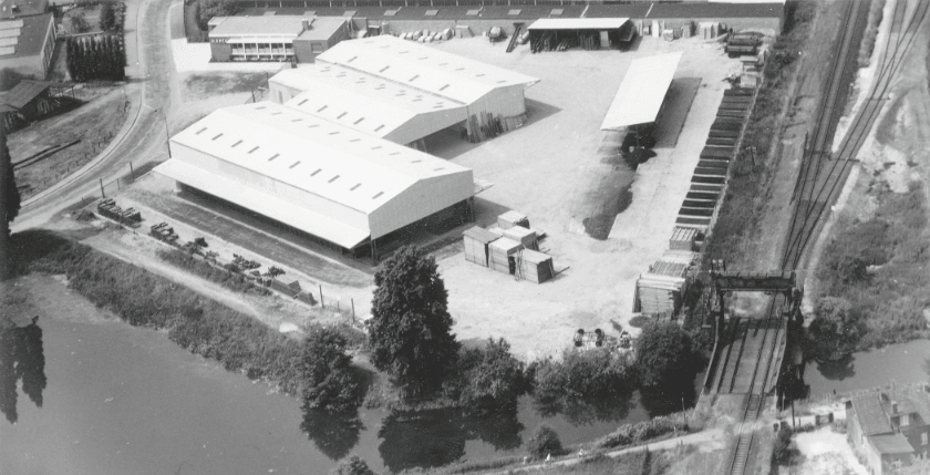 Firma H. Sack an der Ludwig-Jahn Straße
