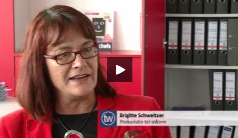 Brigitte Schweitzer zum Thema Vereinbarkeit Beruf und Pflege