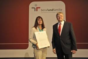 Zertifikatsverleihung berufundfamilie 2014