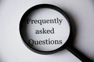Business Process Outsourcing Lupe FAQ Schrift